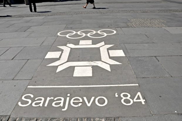 Le Olimpiadi invernali 1984, disputate a Sarajevo
