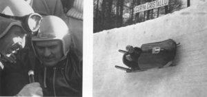 Il bob d'oro alle Olimpiadi invernali 1956