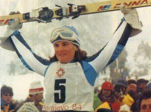 Paoletta Magoni: l'azzurra vinse l'oro a Sarajevo 1984 a soli 19 anni
