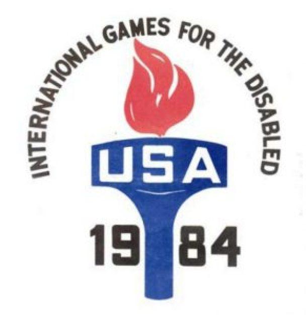 Il simbolo delle Paralimpiadi 1984 (Fonte BRZ Comunicação)