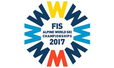 Logo dei Mondiali di sci alpino 2017 a St. Moritz 2017 della FIS