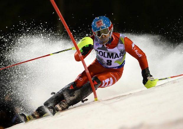 Stefano Gross: per lui un deludente ritiro nella gara di slalom di Kitzbuhel, che ha chiuso il weekend della CdM di sci alpino