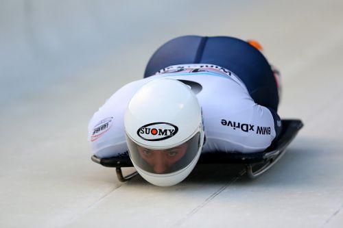 Mattia Gapsari atleta azzurro di skeleton