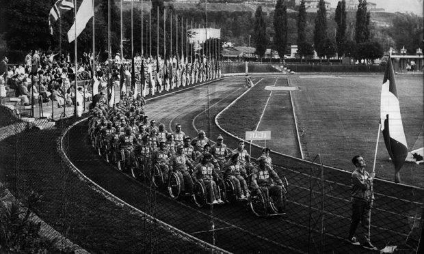 Maria Scutti alle Paralimpiadi di Roma 1960