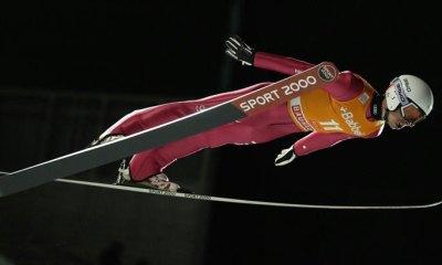 Sebastian Colloredo atleta azzurro della nazionale italiana di salto con gli sci italia