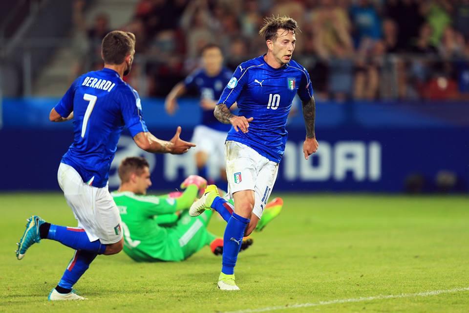 Bernardeschi piega la Germania e la Danimarca manda avanti l'Under 21