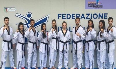taekwondo mondiali 2017 muju nazionale italiana in gara in corea del sud