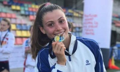 irene prampolini oro pentathlon europei juniores 2017 italia nazionale barcellona