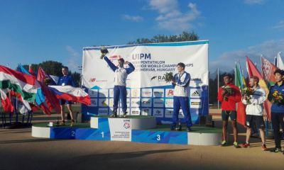 pentathlon mondiali junior 2017 daniele colasanti oro, matteo cicinelli bronzo, oro a squadre maschile italia con anche gianluca micozzi