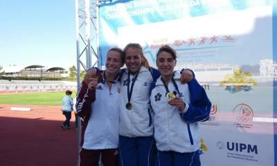 pentathlon europei youth a 2017 lea maria lopez oro, alice rinaudo bronzo, oro a squadre italia