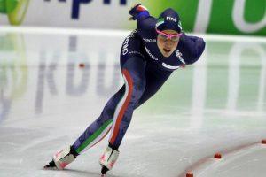 Pattinaggio di velocità, Coppa del Mondo: Lollobrigida, è record nazionale