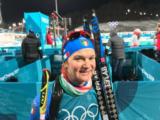 Nicole Gontier biathlon italia olimpiadi invernali pyeongchang 2018 olimpiadi invernali 2018 day 2 italia team