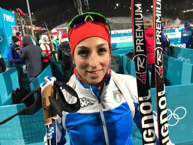 Lisa Vittozzi biathlon italia olimpiadi invernali pyeongchang 2018 olimpiadi invernali 2018 day 2 italia team