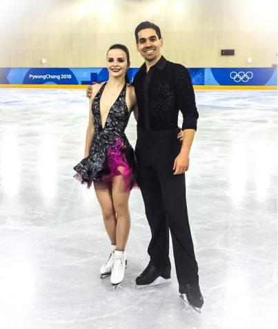Cappellini e Lanotte quinti allo short program delle Olimpiadi invernali 2018