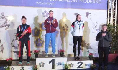 pentathlon campionati italiani open 2018 campionato italiano open pentathlon moderno 2018 donne irene prampolini francesca tognetti alice sotero