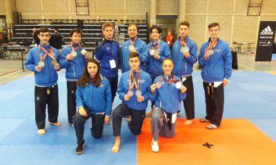 taekwondo belgian open 2018 italia medaglie forme nazionale italiana