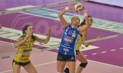 Novara batte Conegliano in gara1 3-0