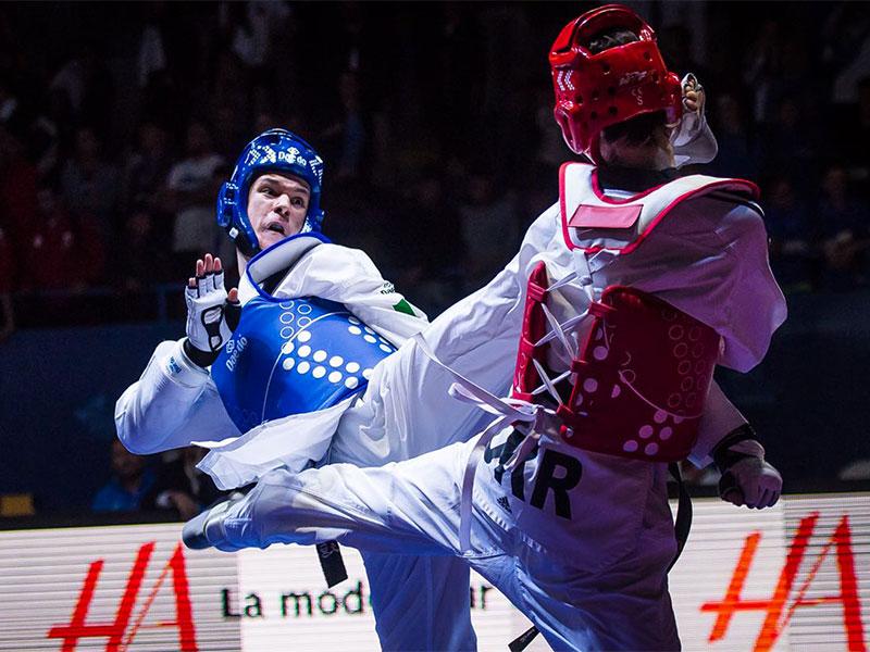 taekwondo mondiali juniores 2018 gabriele caulo argento italia campionati mondiali junior 2018 hammamet categoria -63 kg maschile