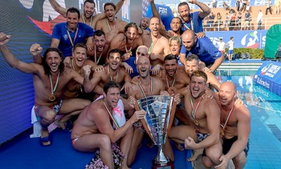 pallanuoto final six scudetto 2018 pro recco campione italia waterpolo stefano tempesti italia pallanuoto maschile