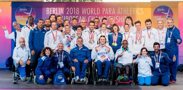 Squadra atletica leggera paralimpica (photo credit: fispes.it)