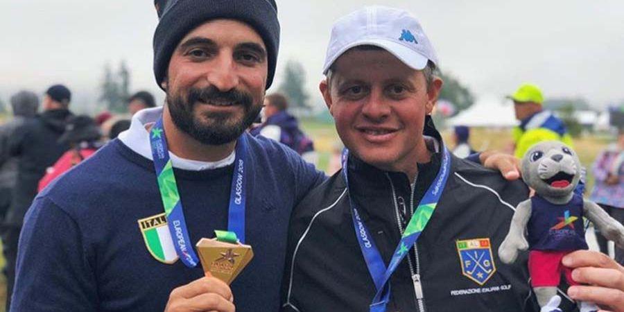 Europei golf, Laporta e Tadini di bronzo