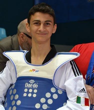 taekwondo grand prix manchester e greece open 2018 vito dell'aquila italia italy ritratto categoria -58 kg maschile senior