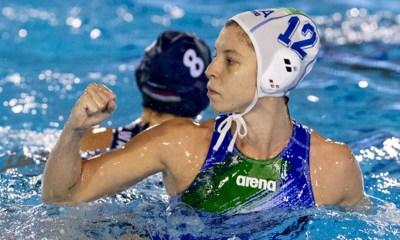 pallanuoto femminile europa cup 2018 gironi italia ungheria setterosa 7rosa izabella chiappini verona waterpolo italy nazionale italiana piscina monte bianco