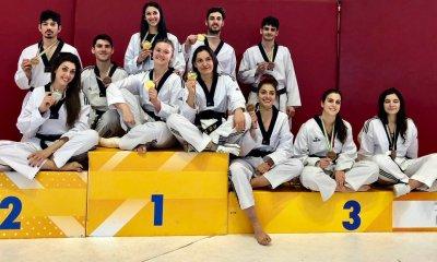 taekwondo campionati italiani categorie olimpiche 2019 medagliati italia italy pisa podio