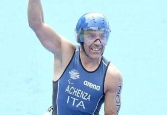 paratriathlon world series 2019 milano giovanni achenza italia italy triathlon paralimpico idroscalo milan bronzo bronze terzo posto third place