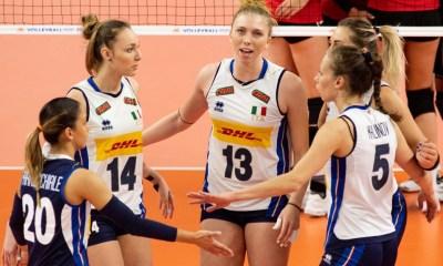 VNL, Italia-Germania: l'Italvolley femminile compie il tris a Opole FONTE: facebook/FederazioneItalianaPallavolo