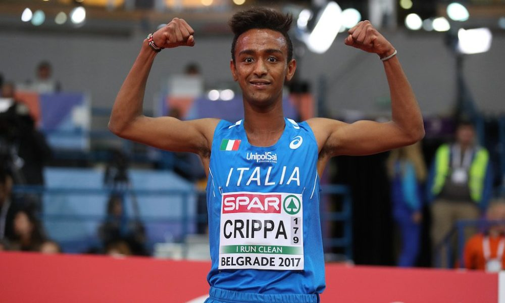 atletica golden gala roma 2019 yeman crippa italia italy 5000m 5000 metri corsa running run stadio olimpico rome iaaf diamond league 2019 atletica leggera athletics golden gala pietro mennea 2019