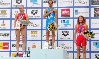 triathlon europei 2019 weert beatrice mallozzi oro junior italia italy european championships golden medal juniores campionessa europea campionessa continentale junior european junior champion prima