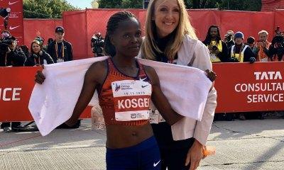 atletica maratona kosgei nuovo record mondiale maratona chicago 2019 marathon world record athletics atletica leggera chicago marathon brigid kosgei eliud kipchoge 2019
