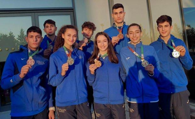 Taekwondo europei categorie olimpiche 2019 dublino italia 8 medaglie 4 bronzi 4 argenti