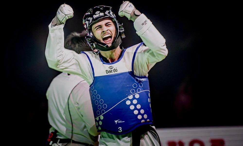 taekwondo grand prix mosca 2019 vito dell'aquila oro italia italy mosow grand prix final 2019 categoria -58 kg maschile tokyo 2020 olimpiadi