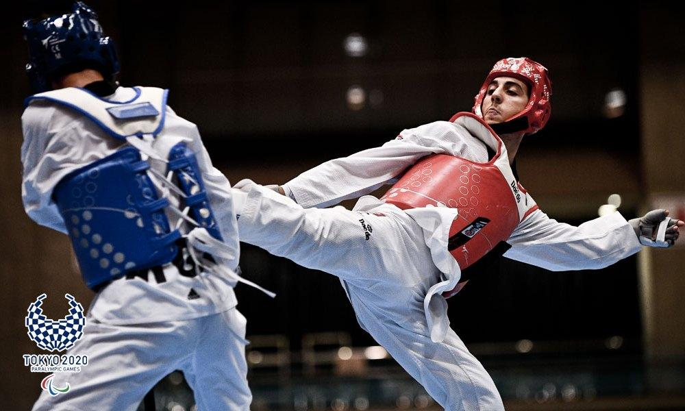 parataekwondo antonino bossolo qualificato Tokyo 2020 italia italy taekwondo paralimpico paralympics paralimpiadi categoria -61 kg K44 paralympic pass