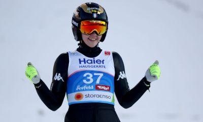 salto con gli sci coppa del mondo 2020 hinzenbach lara malsiner terza italia italy ski jumping world cup austria manuela malsiner jessica malsiner terzo posto 3° posto third place