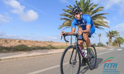 triathlon coppa del mondo 2020 mooloolaba gianluca pozzatti italia italy triathlon world cup 2020 australia paratriathlon triatholn paralimpico covid-19 coronavirus emergenza