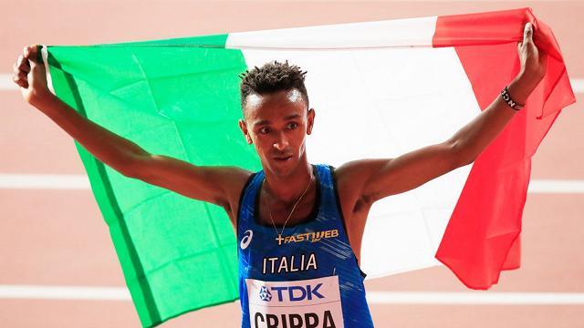 atletica 2020 crippa record italiano nei 5000 metri corsa atletica leggera athletics running italia italy yeman crippa ostrava