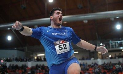 atletica 2020 leonardo fabbri terzo in Polonia atletica leggera italia italy athletics lancio del peso shot put atletica italiana
