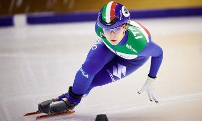 Arianna Sighel agli Europei 2021 di short track