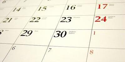 Wedstrijdkalender 2018-2019