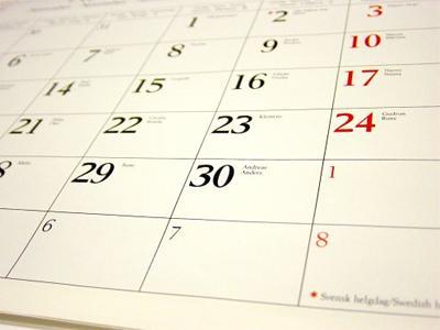Open Water Kalender 2020