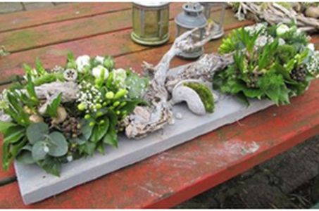 Paasworkshop bloemschikken