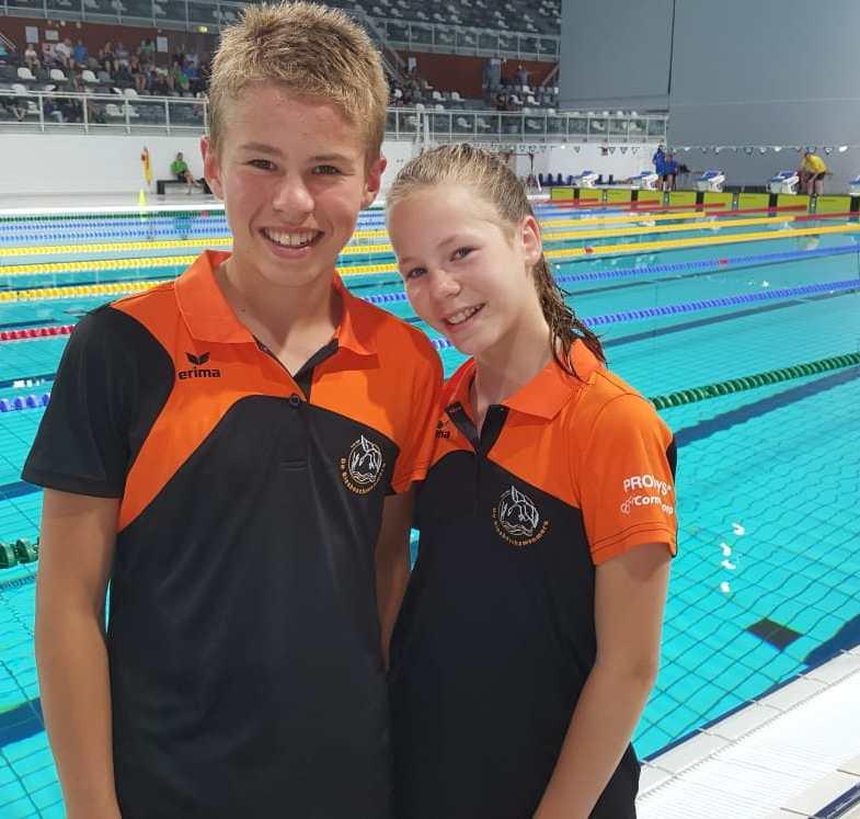 Sterk regio kampioenschap jonge Biesboschzwemmers
