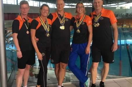 Dozijn medailles voor BBZ-masters