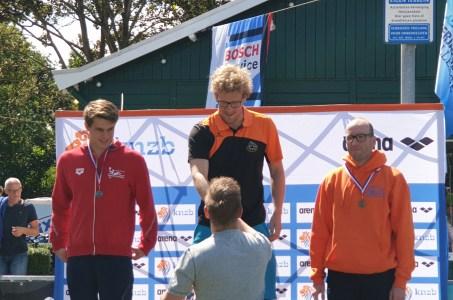 Drie NK-medailles open water