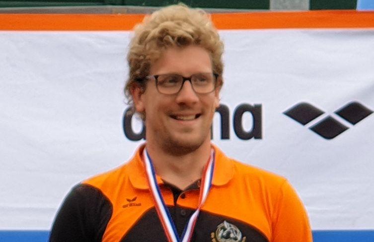 Rugslag record Pieter Pijnenburg
