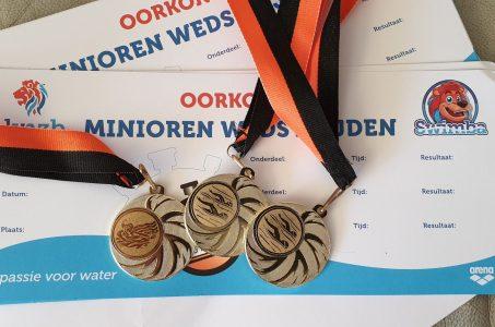 28 medailles en 28 persoonlijke records voor Biesboschzwemmers
