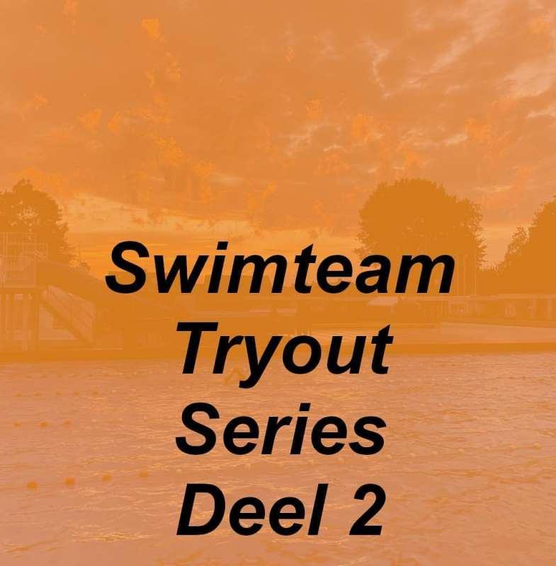 Inschrijven Swimteam Tryout Series 27-plussers
